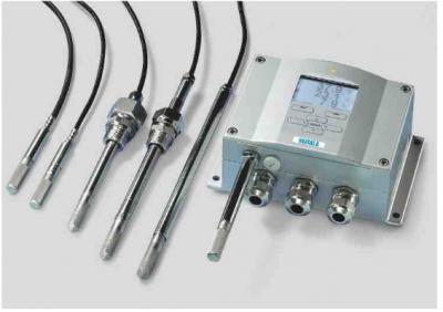 Transmisores de humedad y temperatura