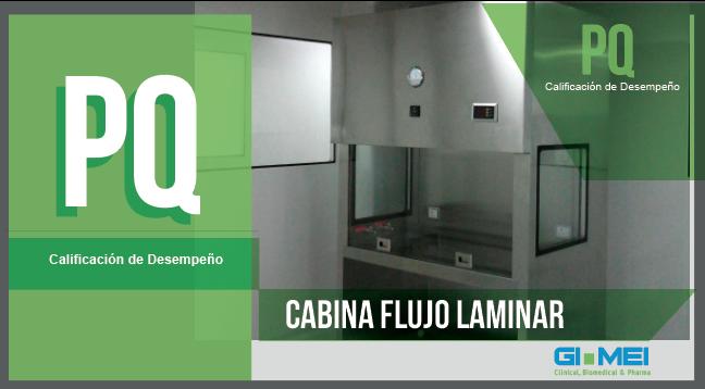 Calificación PQ CABINA FLUJO LAMINAR